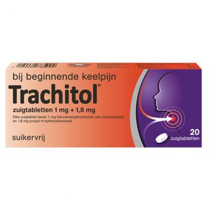 Trachitol® 20 zuigtabletten